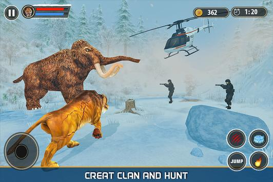 Sabertooth Tiger Revenge: Frozen Age screenshot 12