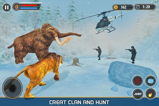 Sabertooth Tiger Revenge: Frozen Age screenshot 2