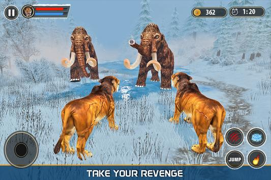 Sabertooth Tiger Revenge: Frozen Age screenshot 5