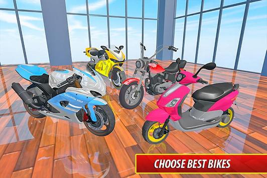 Moto Bike Pizza Delivery – Girl Food Game screenshot 4
