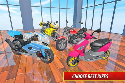 Moto Bike Pizza Delivery – Girl Food Game screenshot 14