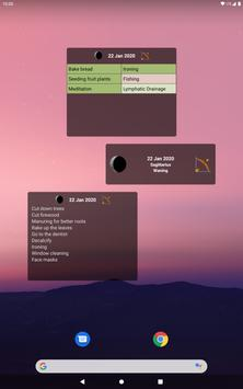 Moon Calendar - Moony screenshot 12