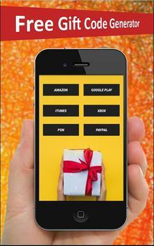Free Gift Card Generator screenshot 2