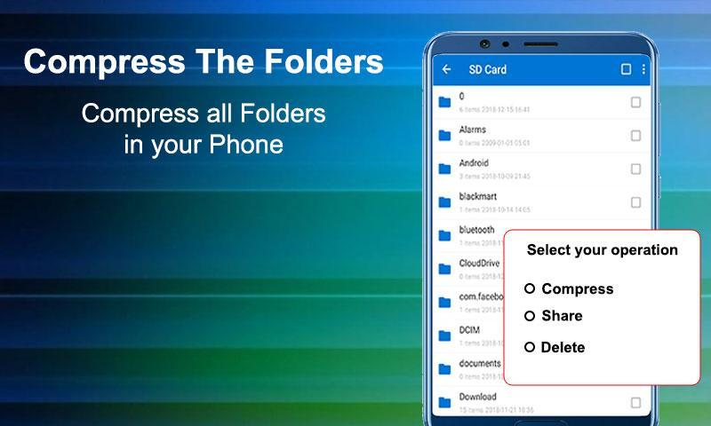 Files Archiver rar Zip Unzip files for Android - APK Download