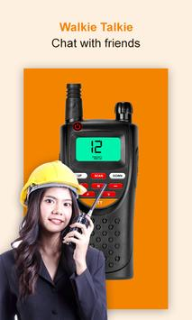 Walkie Talkie App: free calls without internet poster