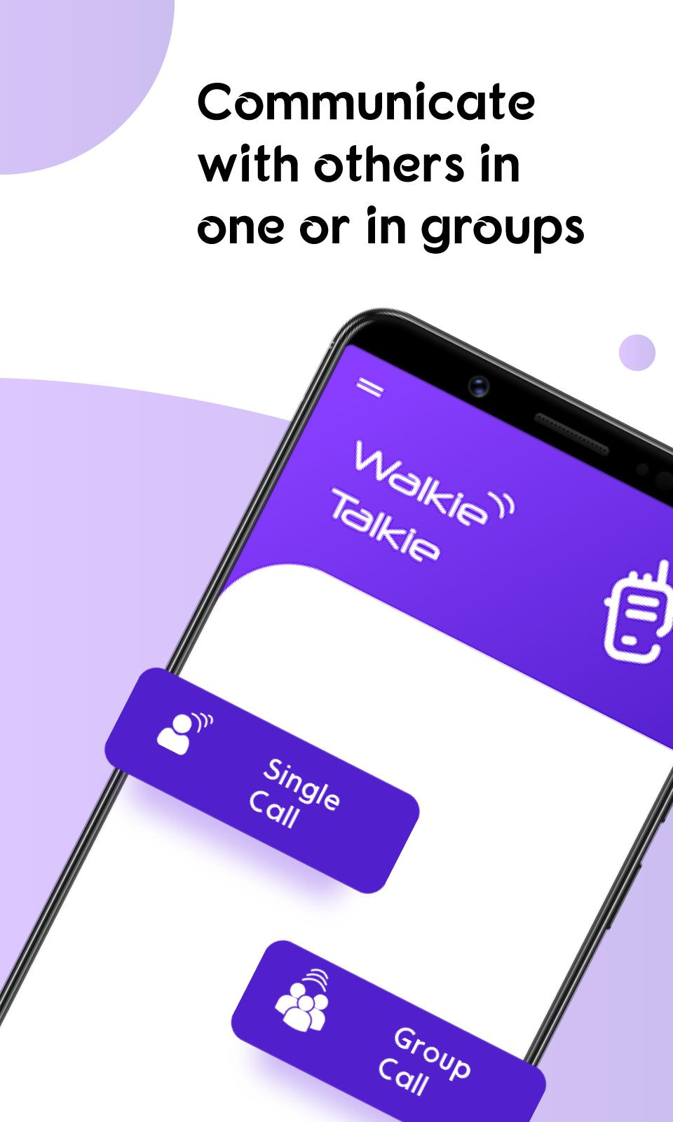 Ptt Walkie Talkie Free Call Without Internet For Android Apk Download