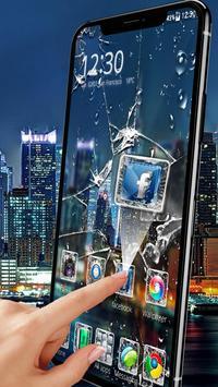 Broken Glass Launcher Theme Live HD Wallpapers screenshot 1