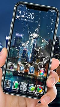 Broken Glass Launcher Theme Live HD Wallpapers screenshot 2