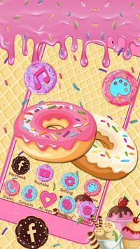 Sweet Cute Donut Launcher Theme Live HD Wallpapers screenshot 2