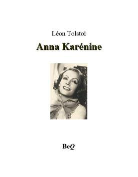 Anna Karénine de Léon Tolstoï poster