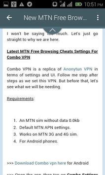 Free Browsing Network screenshot 1