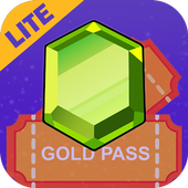 Win Gold Pass & Gems for COC Lite icon