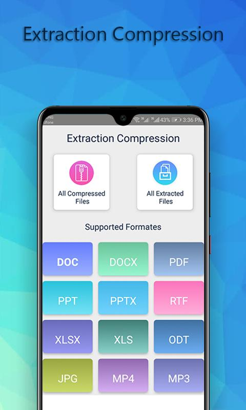 File extractor Rar Archiver Zip Unzip Files Free for Android - APK