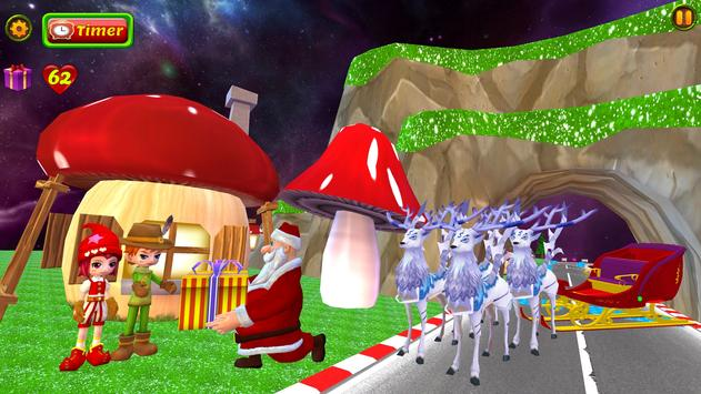 Santa Christmas Infinite Track screenshot 4