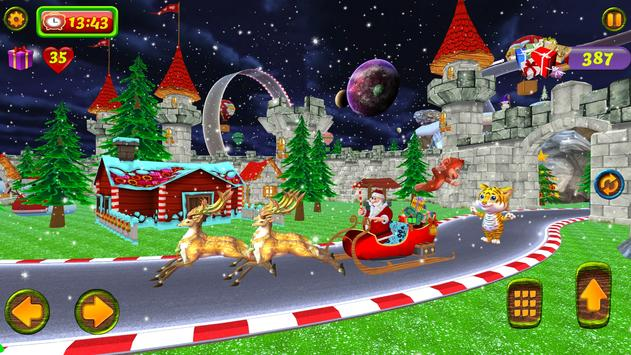 Santa Christmas Infinite Track screenshot 6