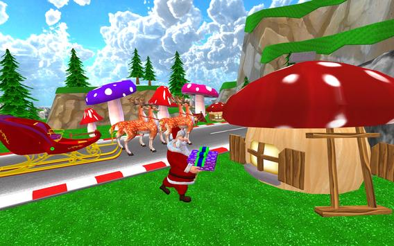 Santa Christmas Infinite Track screenshot 8