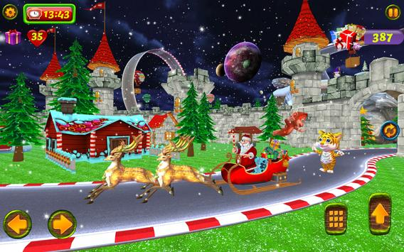Santa Christmas Infinite Track screenshot 9