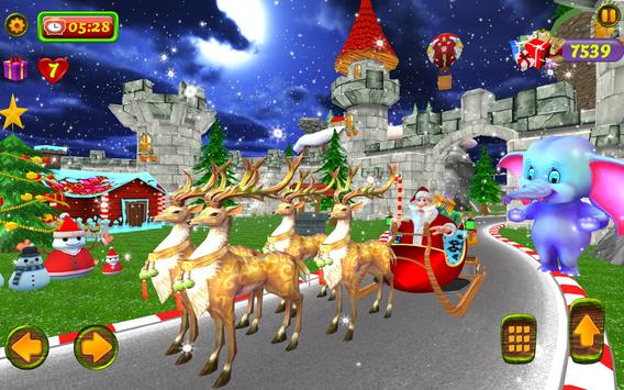 Santa Christmas Infinite Track screenshot 10