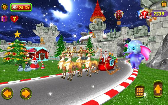 Santa Christmas Infinite Track screenshot 17