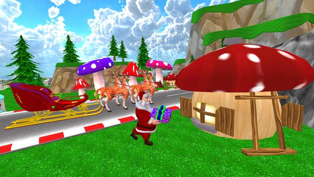 Santa Christmas Infinite Track screenshot 1
