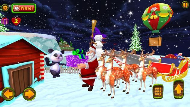 Santa Christmas Infinite Track screenshot 2