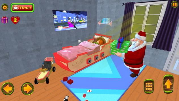 Santa Christmas Infinite Track screenshot 3