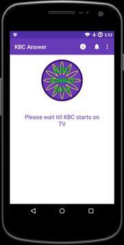 KBC Answer स्क्रीनशॉट 2