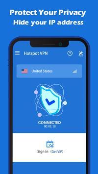Hotspot VPN screenshot 1