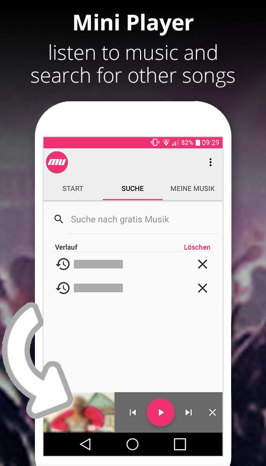 Minimize free music for YouTube in the background for Android - APK
