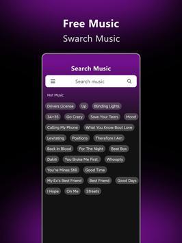Music Downloader - Free music Download تصوير الشاشة 5