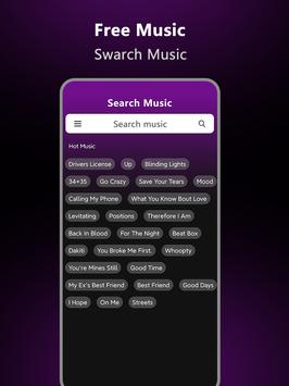 Music Downloader - Free music Download تصوير الشاشة 10