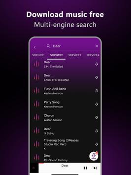 Music Downloader - Free music Download تصوير الشاشة 11