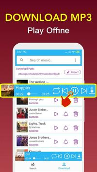 Free Music Downloader - Mp3 Music Download Player screenshot 2