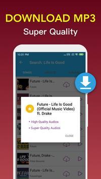Free Music Downloader - Mp3 Music Download Player screenshot 3