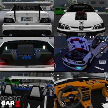 Sport car 3 : Taxi & Police -  drive simulator постер