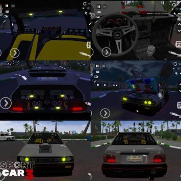 Sport car 3 : Taxi & Police -  drive simulator скриншот 2