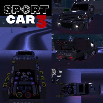 Sport car 3 : Taxi & Police -  drive simulator скриншот 4