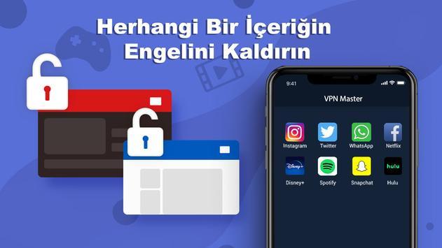 Free VPN Master - Sınırsız Ultra Hızlı Ekran Görüntüsü 1