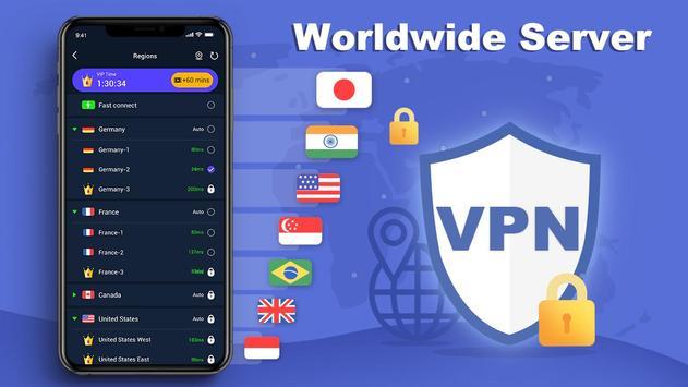Free VPN Master - Ultra Cepat tanpa had syot layar 3