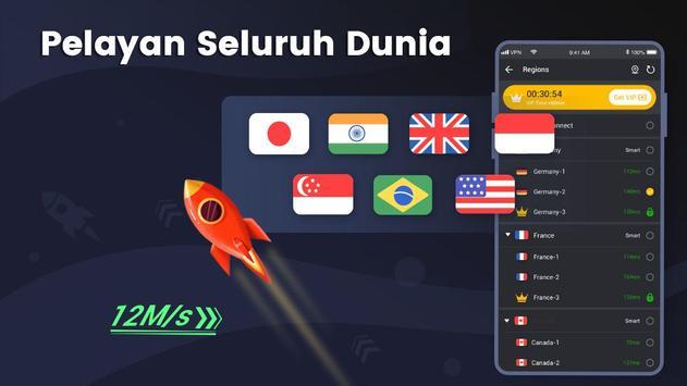 3X VPN syot layar 3