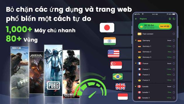 3X VPN ảnh chụp màn hình 6