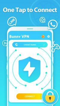 10 Schermata VPN Proxy - VPN Master with Fast Speed - Bunny VPN