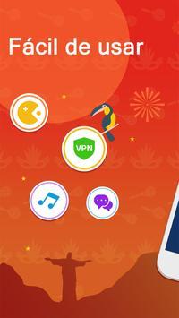 VPN Armada - VPN Grátis seguro e ilimitado Cartaz
