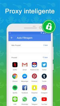 VPN Armada - VPN Grátis seguro e ilimitado imagem de tela 3