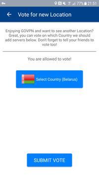 VPN free & secure fast proxy shield by GOVPN Screenshot 5