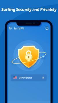 Surf VPN screenshot 1