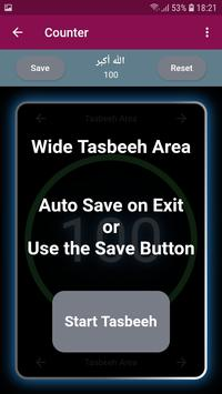 Tasbeeh Counter: Zikr Counter and Tasbeeh App Free screenshot 2