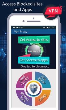 VPN proxy master - unblock websites proxy shield screenshot 2