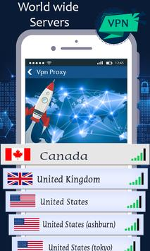 VPN proxy master - unblock websites proxy shield screenshot 3