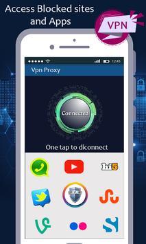 VPN proxy master - unblock websites proxy shield screenshot 4